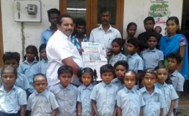 Kerala Teacher Sukumaran Walks 14 KM To Teach Tribal Students - Sakshi