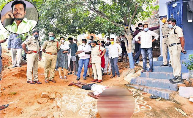 Young man who stabbed the young woman to death in Chittoor - Sakshi