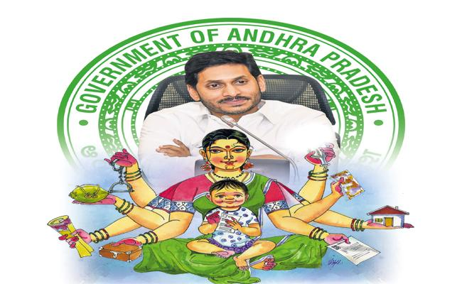 CM Jagan Govt has made profit of Rs 89234 crore for women in two years - Sakshi