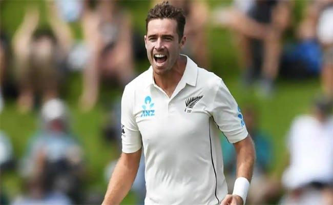 Tim Southee, Rory Burns Headline Hard Fought 4th Day As New Zealand Build On Lead Against England In Lords - Sakshi
