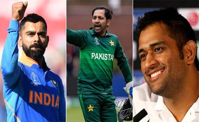 Faf Du Plessis Finds Sarfaraz And Kohlis Captaincy Similar, Compares Them To Dhoni - Sakshi