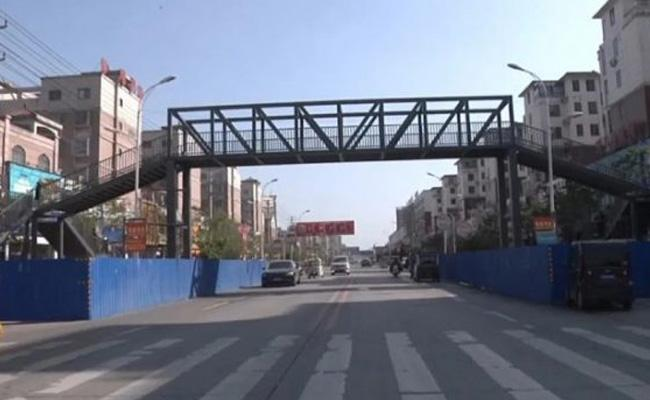 Mother Constructs Footbridge For Son Over Travel Safely To School In China - Sakshi