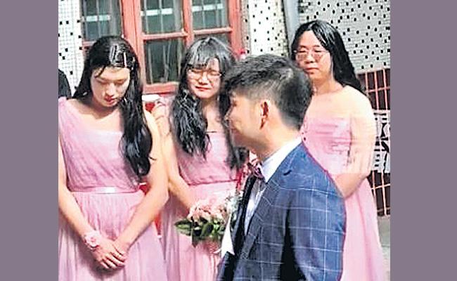 Woman Wedding In Pingdingshan At China Have Gone Viral On Social Media - Sakshi