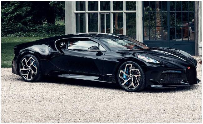 Bugatti release sports car La Voiture Noire With Near Rs 100 Crore Price Tag - Sakshi