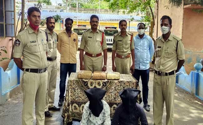 Police Check For Drug Trafficking - Sakshi