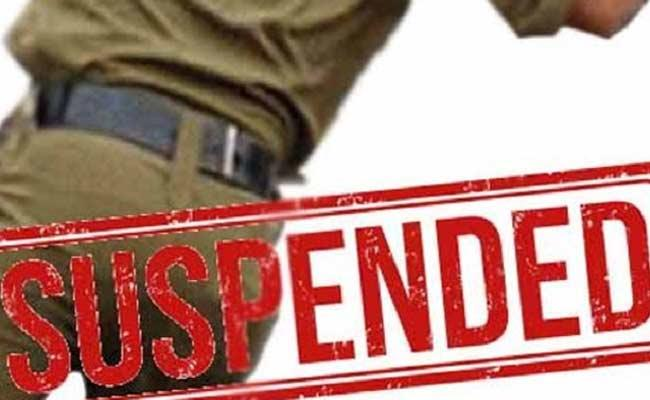 Excise CI And Three Constables Suspended - Sakshi