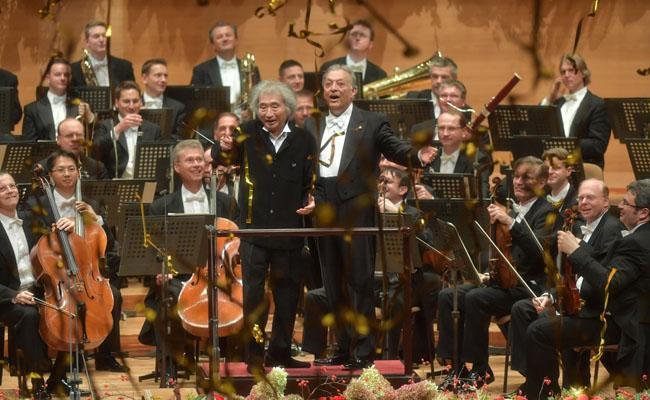 Alzheimer patients Music concert Maestro Seiji Ozawa Zubin Mehta - Sakshi