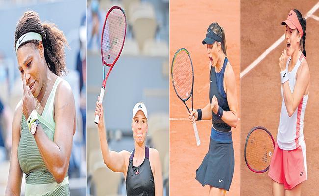 Tamara Zidansek, Anastasia Pavlyuchenkova, Paula Badosa and Elena Rybakina into quarter-finals - Sakshi