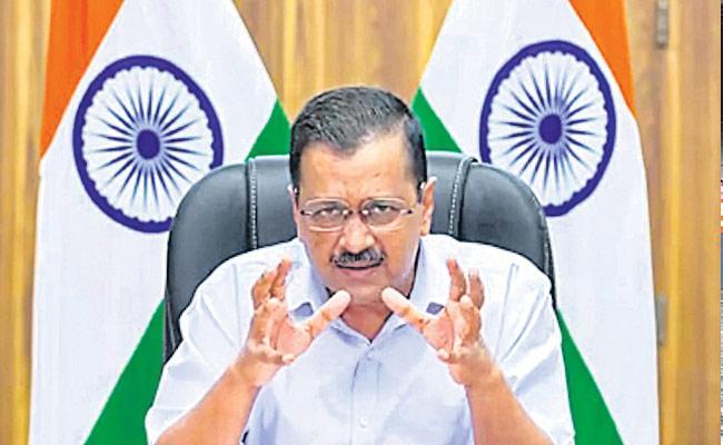 Delhi CM Announces Voting Booth Level Vaccination Drive - Sakshi