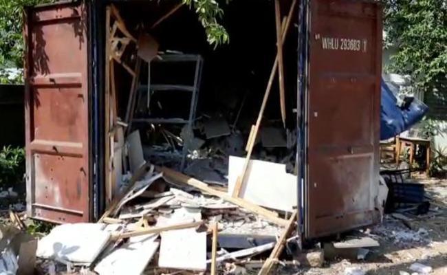 Oxygen Cylinder Blast In Madanapalle In Chittoor District - Sakshi