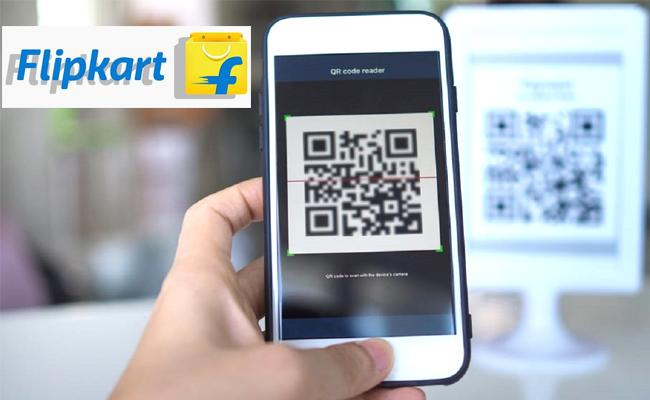 Flipkart Launches QR code based Payment Option Fro COD Orders - Sakshi