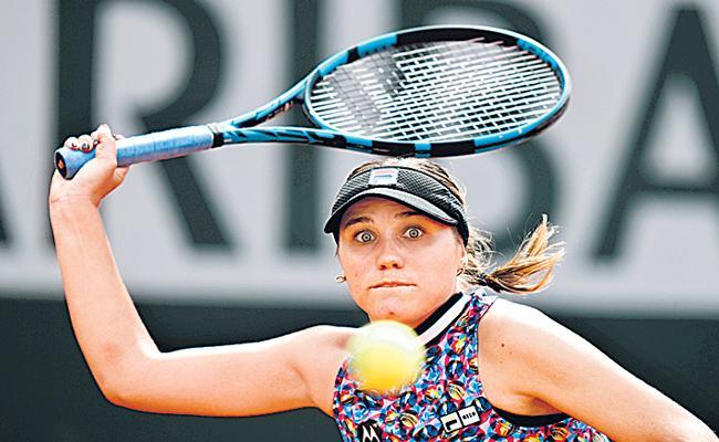 Maria Sakkari beats 2020 finalist Sofia Kenin - Sakshi