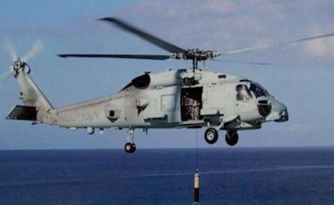 India Strengthen Its Navy By Acquiring Romeo MH 60r Anti Submarine Helicopters From US - Sakshi