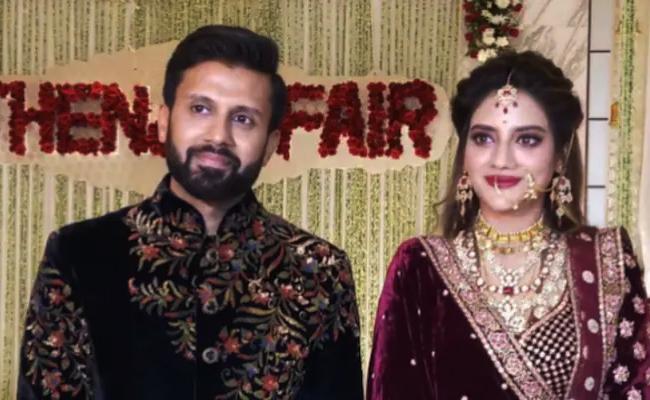 Actress Nusrat Jahan Revealed Shocking Statement On Separation From Her Husband - Sakshi