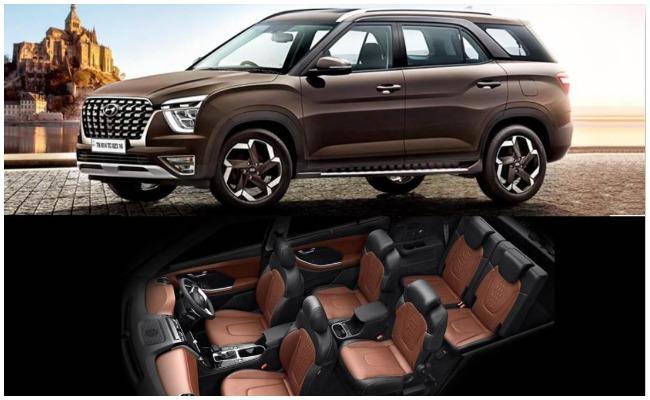 Hyundai Motor India Limited Official Announce Hyundai Alcazar Booking - Sakshi