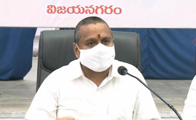 vellampalli Srinivas Rao Comments On Temples Development In Vizianagaram - Sakshi