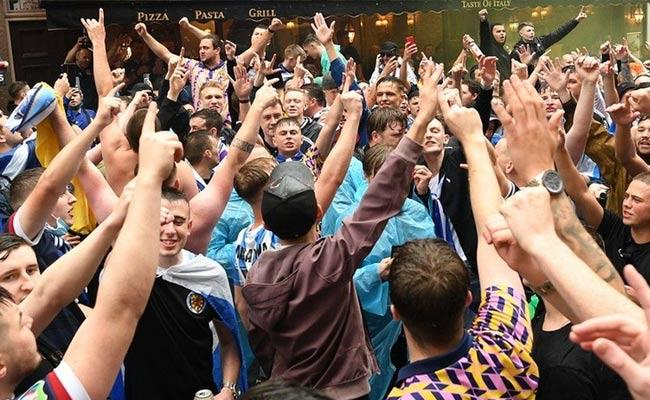 Scotland Football Fans Infected With Covid 19 After Attended Euro 2020 - Sakshi