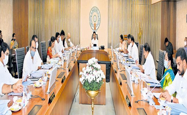 AP cabinet taken several key decisions that revolutionized agricultural sector - Sakshi