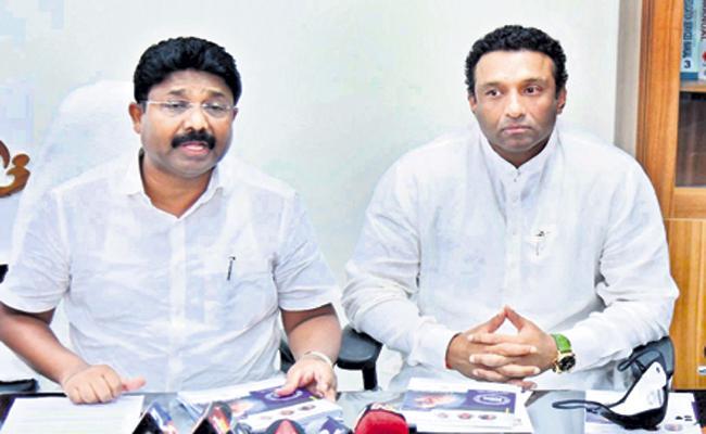 Mekapati Goutham Reddy And Adimulapu Suresh On new innovations - Sakshi