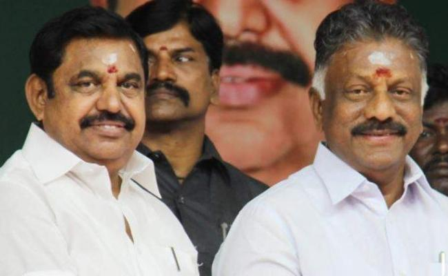 Panneerselvam Group Protesting In Assembly Opposition Leader Post AIADMK - Sakshi