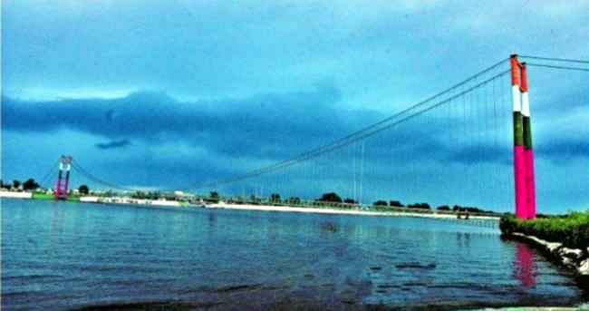 Photo Story: Komati Cheruvu Cable Bridge Beauty In Siddipet - Sakshi