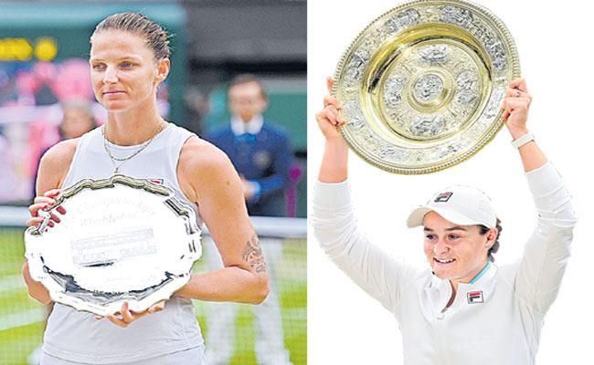 Ashleigh Barty Beat Karolina Pliskova in 3-set Thiller - Sakshi
