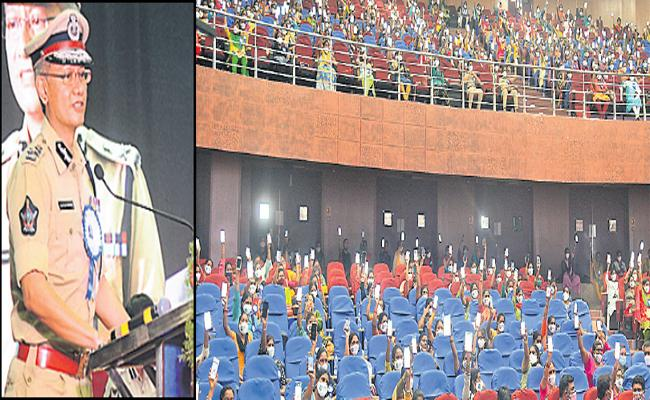 Gautam Sawang said that government would set up Disha special courts - Sakshi
