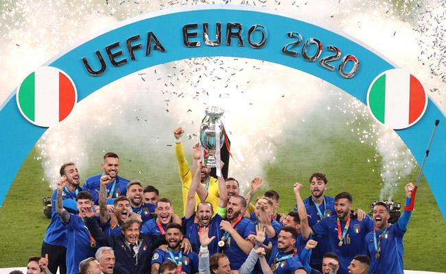 Italy Win Against  England In UEFA Euro 2020 Final Match - Sakshi