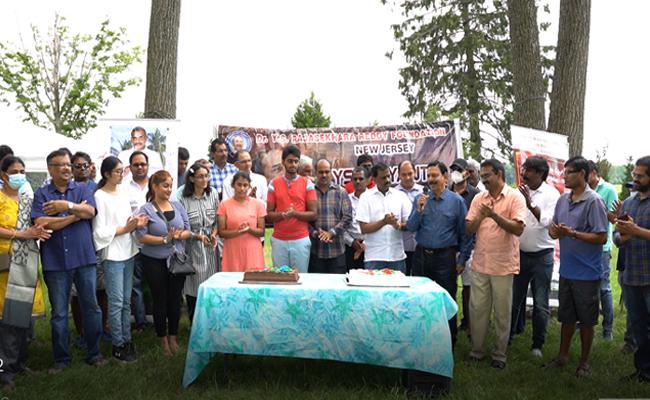 Dr YSR Birth Anniversary celebrations In New Jersey - Sakshi