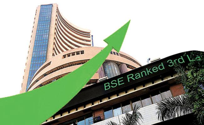 BSE And NSE Stock Market Started In Positive Note - Sakshi