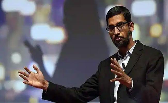 Free and open internet under attack, says Google CEO Sundar Pichai - Sakshi