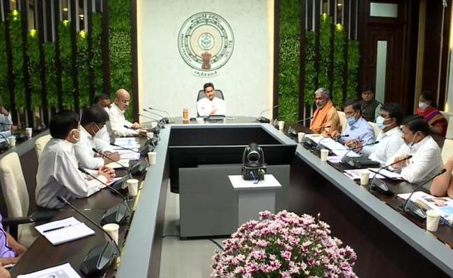 CM YS Jagan Review On Panchayati Raj And Rural Development - Sakshi