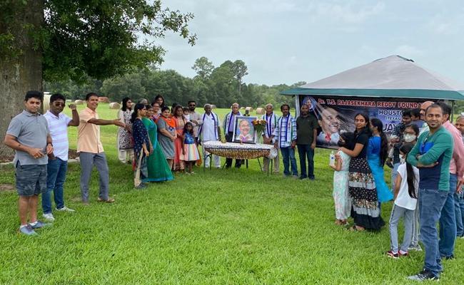 Dr YSR 72nd Birth Anniversary Celebrations In TEXAS - Sakshi