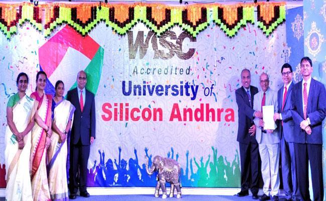 University Of Siliconandhra Gets Wasc Recognition In Usa - Sakshi