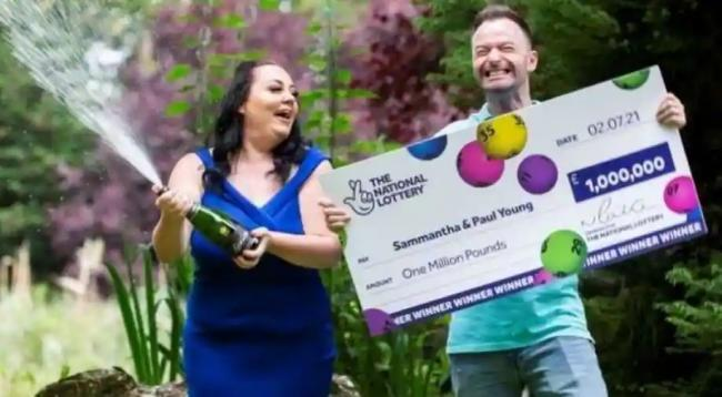 UK Woman Buys Lottery Ticket Out of Euro 2020 Boredom Wins 1 Million Pounds - Sakshi