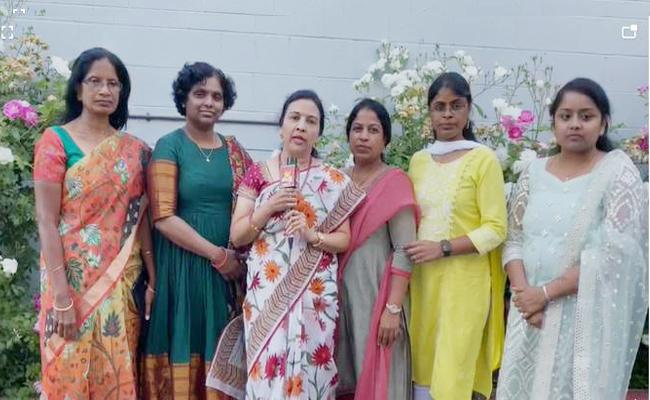 Women Empowerment Telugu Association Donate Covid Care Kits - Sakshi