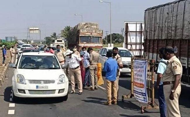 Hi Alert Between Maharastra And Karnataka Border Corona Third Wave - Sakshi