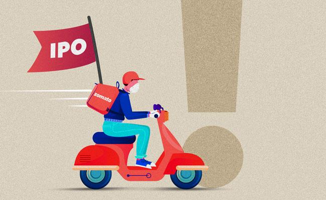 Zomato Shares Huge Demand On Market On The First Day  - Sakshi