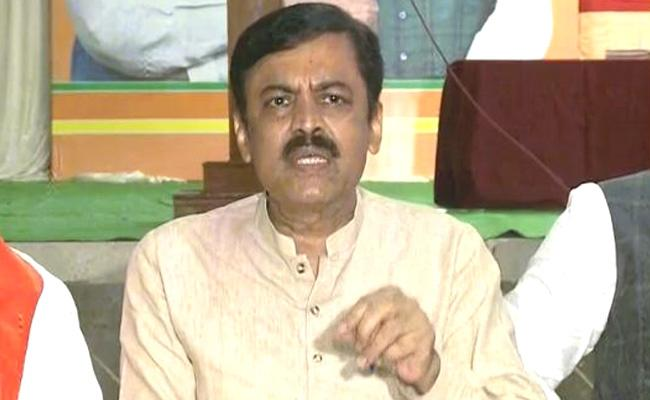 GVL Narasimha Rao Comments On Centre Gazette Notification Projects - Sakshi