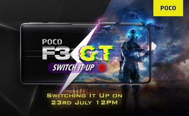Poco F3 GT India Launch Date Set for July 23 - Sakshi