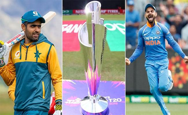 T20 World Cup 2021 Draw: India And Pakistan Placed In Same Group - Sakshi