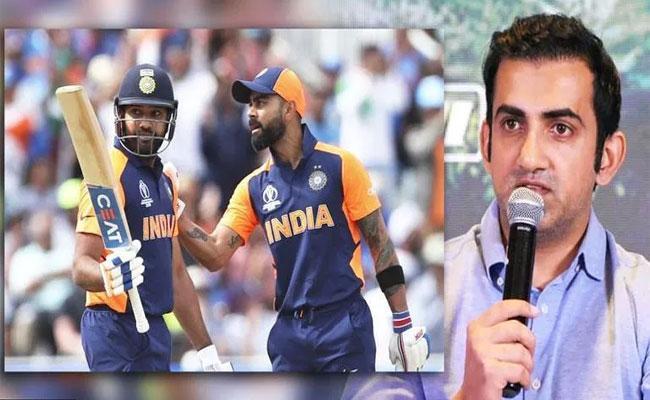 Gautam Gambhir Says There Will Be Huge Responsibility On Kohli And Rohit Sharma While India Take On Pakistan - Sakshi