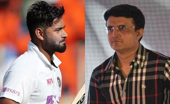 IND VS ENG: Sourav Ganguly Supports Pant Physically Impossible Wear Mask - Sakshi