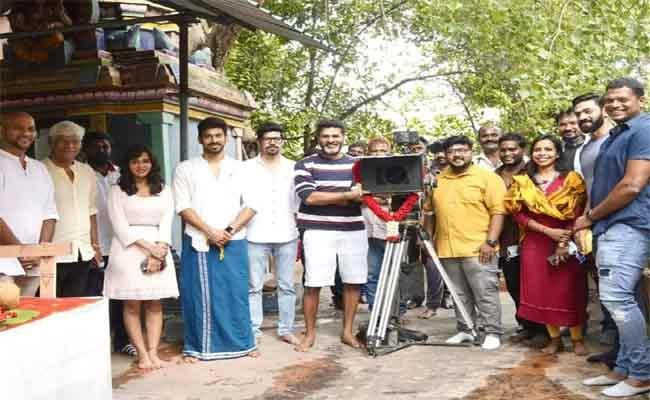 Prabhu Devas New Film With Varalaxmi Shooting Begins  - Sakshi