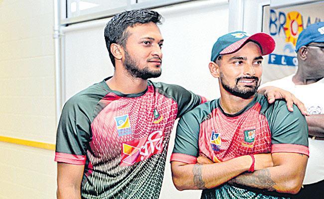 Shakib Al Hasan takes five as Bangladesh thrash Zimbabwe in series opener - Sakshi