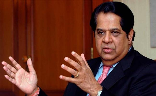 K V Kamath Order To Push Growth Fiscal Deficit Target Set In The Budget  - Sakshi