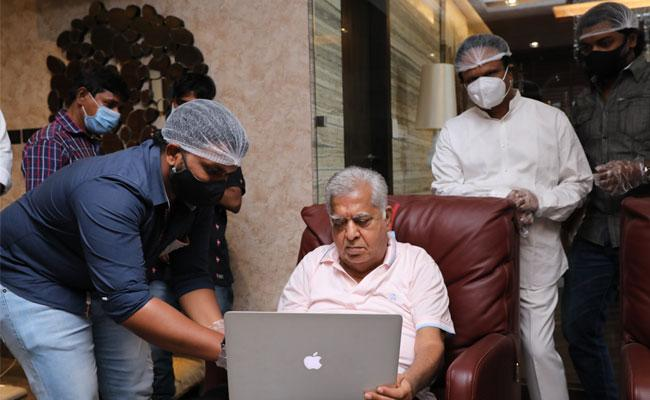 Aham Brahmasmi Web Series Trailer Launched By Sunil Narang - Sakshi