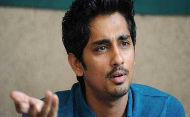 Actor Siddharth Strong Reply To Netizen Tweet About His Age - Sakshi