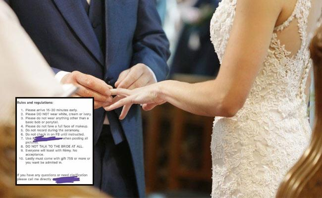 Viral: Wedding Rules Made For Guests Come With Rs 5500 Gift Or More - Sakshi