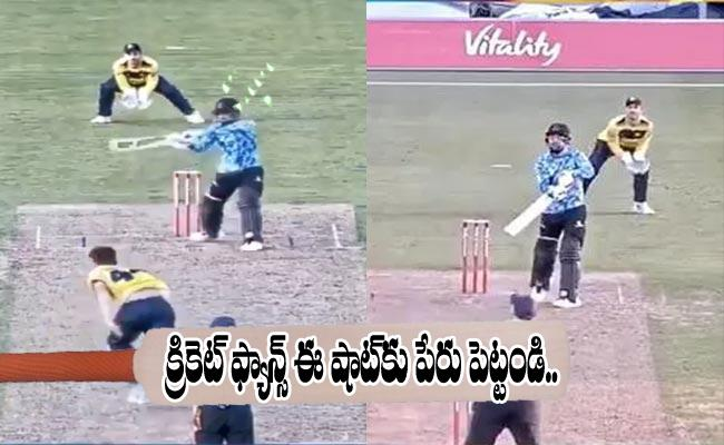 Rashid Khan Tremoundus Six Confused Cricket Fans Which Shot Is This - Sakshi